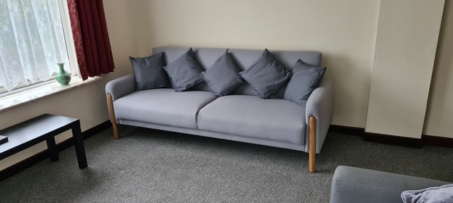 Sofa bed at Old Coffee Shop